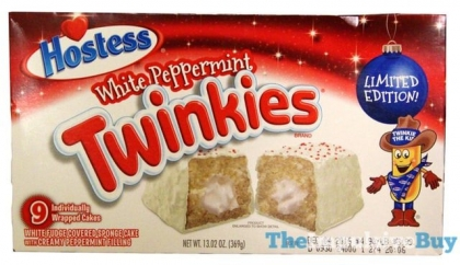 "Merendine ""Hostess White Peppermint Twinkies"" ritirate: ""Rischio Salmonella""."
